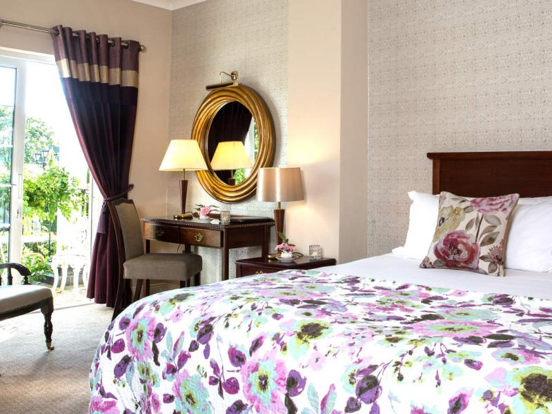 Luxurious bedrooms at the Whitford House Hotel in Wexford