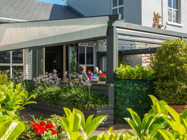 Alfresco Dining at Whitford House Hotel